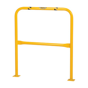Vestil Manufacturing High Profile Safety Guard - High Profile Guard - 36 in. x 42 in. - 4 1/2 in.