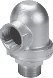Dixon 1120 Series 1 1/2 in. Vacuum Relief Valves - 6 in. HG
