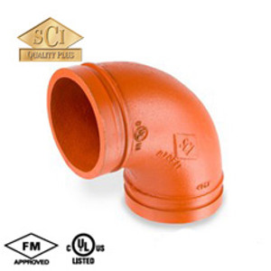 Smith Cooper COOPLOK 10 in. Grooved 90° Elbow - Standard Radius