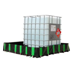 UltraTech Economy Model Containment Berm - 6 ft. x 6 ft. x 1 ft. - 269 gallons
