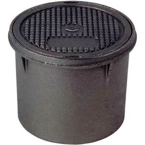 Franklin Fueling Systems 7 1/2 in Manhole Ribbed Cast Iron Cover w/ 8 in. Skirt