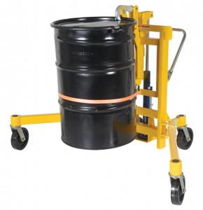 Vestil Manufacturing Foot Pump Drum Transporter - 1500 lb Capacity