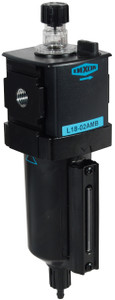 Dixon Wilkerson 3/8 in. L18 EconOmist Compact lubricator with Metal Bowl