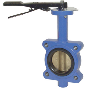 Dixon BFVL Series 3 in. 150 lb. Butterfly Valve w/Buna-N Seals & Aluminum Bronze Disc, Threaded Lug Style