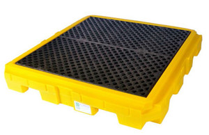 UltraTech Ultra-Spill Pallet Plus with Drain 4 Drum