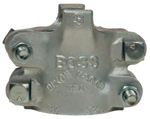Dixon Boss BU18 Clamp 1 1/4 in. Hose ID Zinc Plated Iron 4-Bolt Type