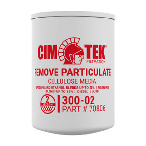 Cim-Tek 70806 2 Micron Particulate Fuel Dispenser Filter (300-02)