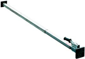 Vestil Two Piece Steel Telescopic Galvanized Cargo Bar - 90 to 139 in.