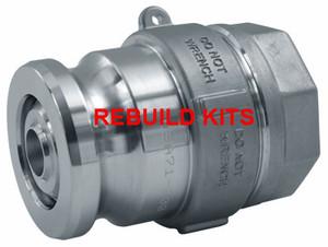 Dixon 1 1/2 in. Cam & Groove Style Adapter Repair Kit - Viton Seal