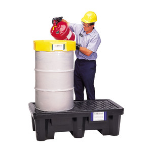 UltraTech International Economy Model Pallet 2 Drum with Drain