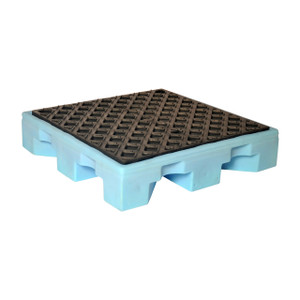 UltraTech International Fluorinated Spill Pallet 4 Drum