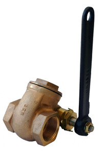 Morrison Bros. 237 Series 1 1/4 in. Quick Opening Gate Valve w /Nitrile Gasket