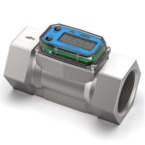 GPI G2 Series 2 in. NPT High Pressure Turbine Flow Meter - Gallons