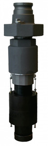 Morrison Bros. 9095AA Series 3 in. Aluminum Overfill Prevention Valve w/ 3 in. Male Quick Disconnect - Direct