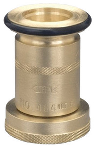 Dixon 1 1/2 in. NH(NST) Brass Industrial Fog Nozzle
