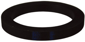 Dixon 4 in. Extra Thick Nitrile Rubber Cam & Groove Gasket (Black)