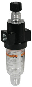 Dixon Wilkerson 1/4 in. L03 Miniature lubricator with Transparent Bowl & Guard