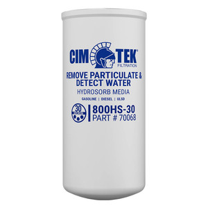 Cim-Tek 70068 30 Micron Hydrosorb High Flow Spin-On Fuel Dispenser Filter (800HS-30)