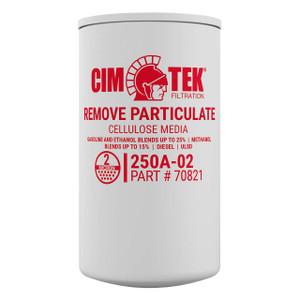 Cim-Tek 70821 250AE-02 2 Micron Particulate Fuel Filter