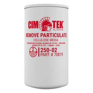 Cim-Tek 70819 250E-02 2 Micron Particulate Fuel Filter