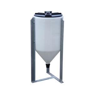 Enduraplas 45 Gallon Mixing Cone - 30 in. W x 41 in. H
