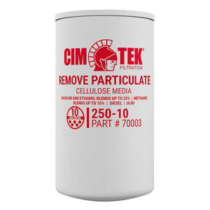 Cim-Tek 70003 250E-10 10 Micron Particulate Fuel Filter