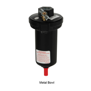 """Dixon Wilkerson Automatic Drain with Metal Bowl - Metal - 1/2"""""""