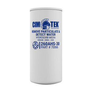Cim-Tek 70066 260AHS-30 30 Micron Water & Particulate Hydrosorb Fuel Filter