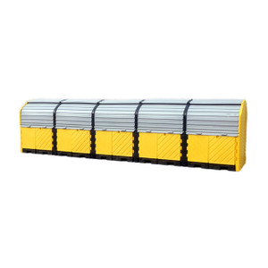 UltraTech International Hard Top Plus Spill Pallet 20 Drum With Drain