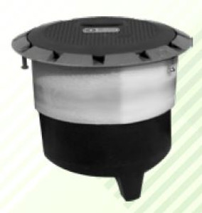 Franklin Fueling Systems 702 Series Flex Catch Spill Containment Manhole with Black Cover