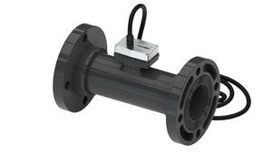 GPI TM Series 4 in. ANSI Flanged PVC Turbine Water Pulser