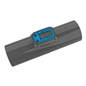 GPI TM Series 4 in. FNPT PVC Turbine Water Meter