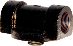 Cim-Tek 50002  1 in. NPT Cast Iron Adaptor for 200E 250E 260 & 300 Series Filters