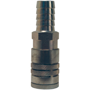 Dixon Air Chief Steel Industrial Coupler 1/2 in. Hose Barb x 3/8 in. Body