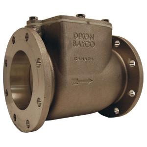 Dixon Bayco 4040 Series 4 in. Round TTMA High Flow Swing Check Valves w/ Metal-to-Metal Seal