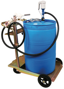 Liquidynamics 55 Gallon DEF Transfer System with In-Line Meter & Automatic Nozzle
