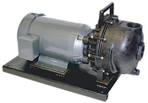 Banjo 2 in. Polypropylene Centrifugal Pumps w/ EPDM Elastomers - 5 HP Three Phase
