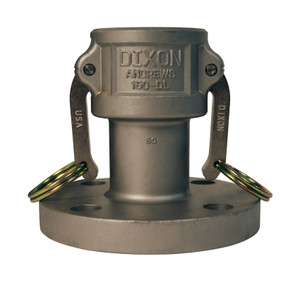Dixon 4 in. Stainless Steel Coupler x 150# Flange