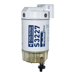 Racor 1/4 in. 60 GPH Aquabloc Marine Gasoline Spin-On Type Filter Assembly - S3227 - 12 Qty