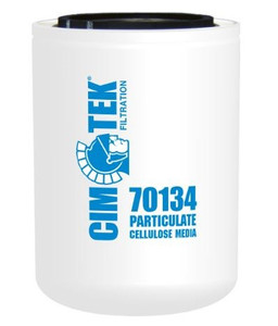 Cim-Tek 70134 Industrial Spin-On Filter - Cellulose Resin-Impregnated - Cellulose Resin-Impregnated Media