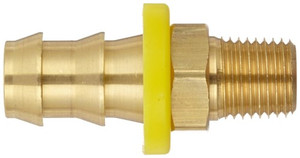Dixon 1/2 in. Male NPT x 3/8 in. Push-on Hose Barb