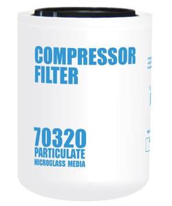 Cim-Tek 70320 Replacement Compressor Spin-On Filter - Microglass
