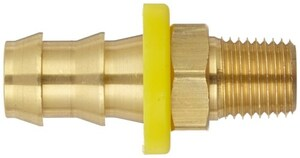 Dixon 3/4 in. Male NPT x 3/8 in. Push-on Hose Barb