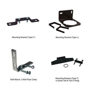 Dixon Wilkerson Mounting Bracket (Type T) w/Joiner Set & Port O-Ring Used on F08, L08, R08