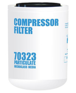 Cim-Tek 70323 Replacement Compressor Spin-On Filter - Microglass