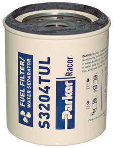 Racor 320 Engine Spin-on Series Fuel Filter/Water Separator - S3204TUL - 12 Qty