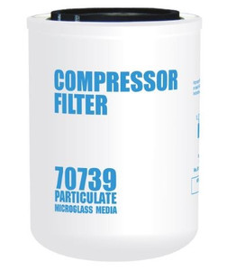 Cim-Tek 70739 Replacement Compressor Spin-On Filter - Microglass