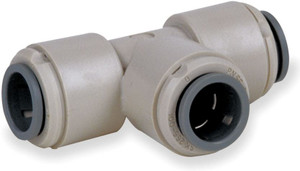 John Guest Gray Inch Acetal Fittings - Union Tees - 3/8 in. - 10