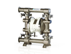 Graco 515 FDA-Compliant 1/2 in. Double Diaphragm Sanitary Pumps w/ SST/EPDM O-Rings, PTFE Balls, Overmolded PTFE Dia.
