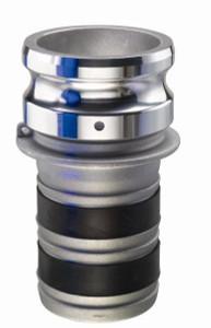 EZ-Seal Leak Resistant Fittings - Part E Male Adapter x Hose Shank - 3 in.